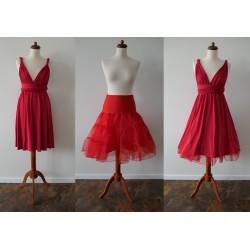 Krátká červená spodnička Convertibles®