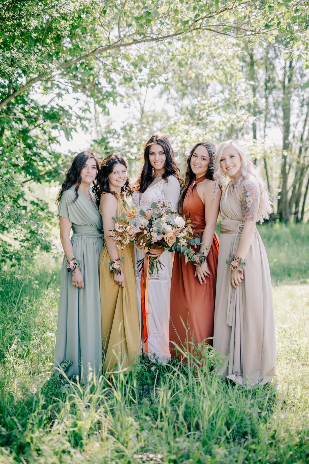 Boho svatba na Rosmarině