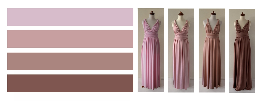 Růžové odstíny