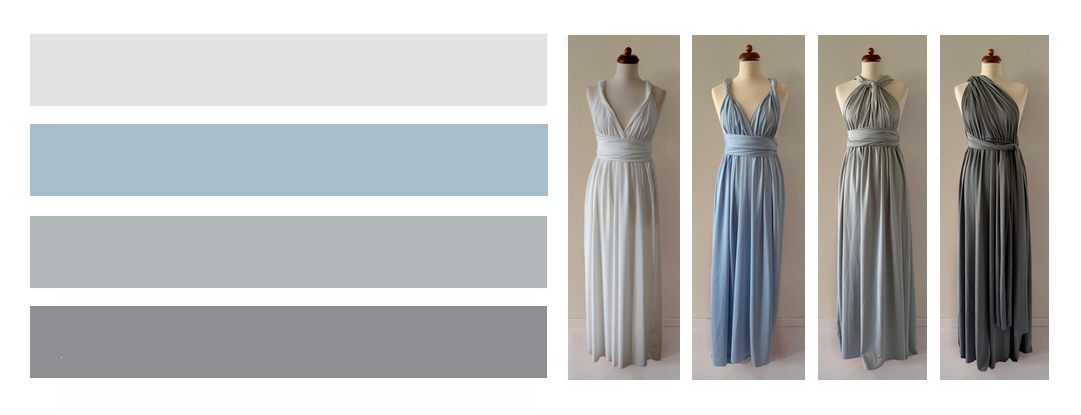 Stříbrno modré variace