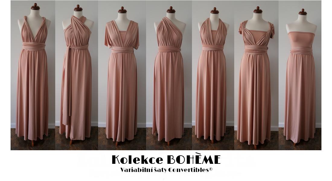 Kolekce Boheme variabilní šaty
