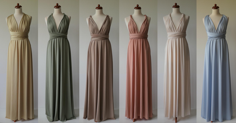 šaty pro družičky