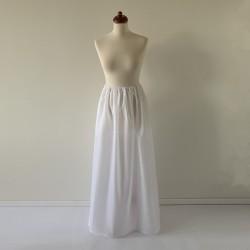 Dlouhá bílá spodnička Convertibles®