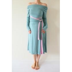 Variabilní oboustranné šaty Convertibles® Bamboo Longevita s rukávy