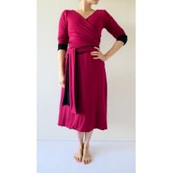 Variabilní oboustranné šaty Convertibles® Tencel Longevita s rukávy